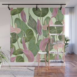 Lush Lily Wall Mural