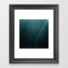Teal Galaxy Framed Art Print