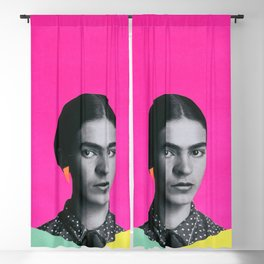 Modern Frida Blackout Curtain
