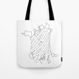 GFP (black) Tote Bag