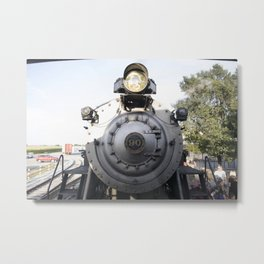 Strasburg Railroad Engine 90 Metal Print
