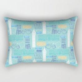 Queen and Country - Mint Rectangular Pillow