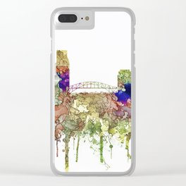 Corpus, Christie, Texas SG - Faded Glory Clear iPhone Case