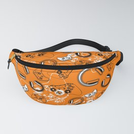 Gamers-Orange Fanny Pack