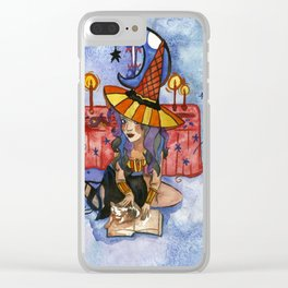 Casting a Spell Clear iPhone Case