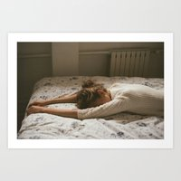 Don't want to wake up Art Print