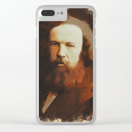 Dmitri Mendeleev, Chemist and Inventor Clear iPhone Case