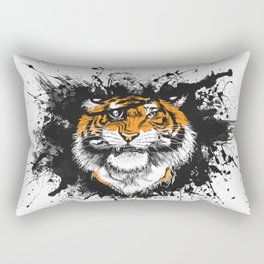 TigARRGH!! (Orange) Rectangular Pillow