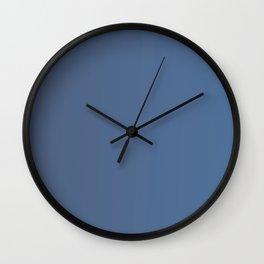 Dark Blue Gradient Wall Clock