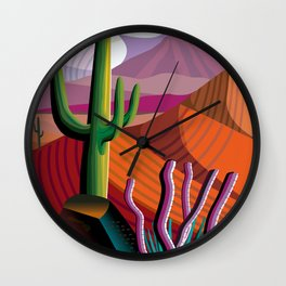 Gila River Indian Community Wall Clock