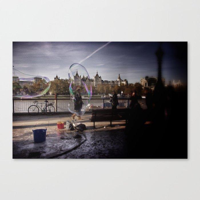 Bubbleman I Canvas Print