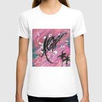 """aloha T-shirts featuring """"ALOHA"""" by Sababa Surf"""
