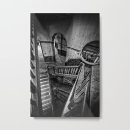 Never Ending Stairs Metal Print
