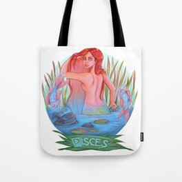 Starsigns:Pisces Tote Bag