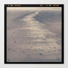 seaside sand Canvas Print