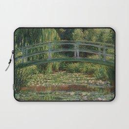 Claude Monet - Japanese Footbridge Laptop Sleeve