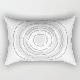 Circular Abstract Background Rectangular Pillow