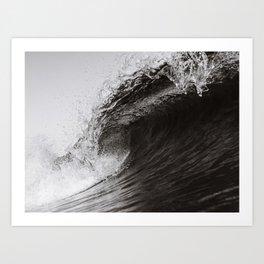 Black & White Barrel / BondiBeach Art Print