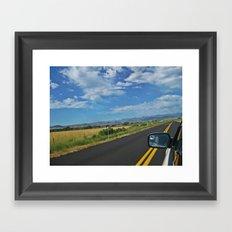 Traveling Framed Art Print