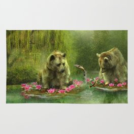 Bear Dreaming Rug
