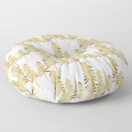Pine Trees – Gold Palette Floor Pillow