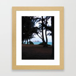WAIMANALO BEACH 2 Framed Art Print