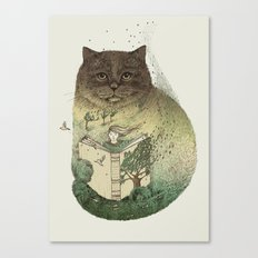 Storyteller Canvas Print