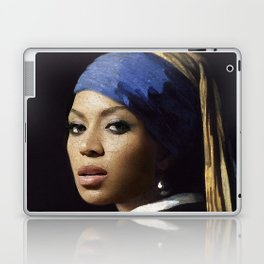Bey with a Pearl Earring Laptop & iPad Skin