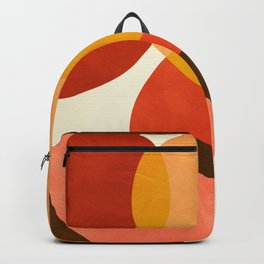 geometric autumn sun abstract Backpack
