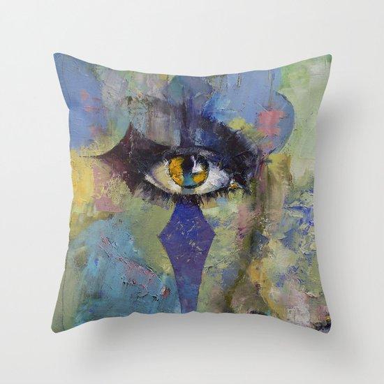 Gothic Art Throw Pillow