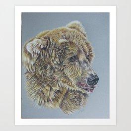 Otis, Golden Bear Art Print