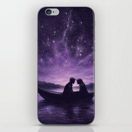 Lovers Under A Starlit Sky iPhone Skin