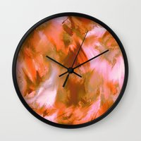 pumpkin Wall Clocks featuring Pumpkin by Patty Weiler