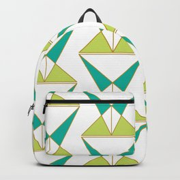 Retro Geometric Mid Century Modern Backpack