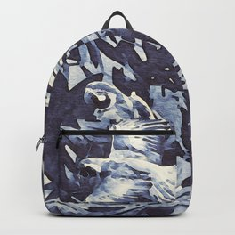 Tropical II - watercolor Backpack