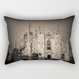 Duomo of Milan, Cathedral in the center of Milan Rectangular Pillow