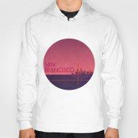 san francisco Hoodies featuring San Francisco by WyattDesign