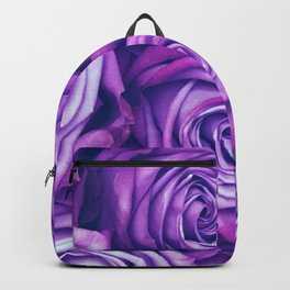 Purple Gothic Roses, Luxurious and Chic Backpack