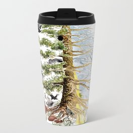 The Woods and The Water Travel Mug
