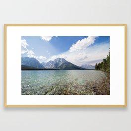LEIGH LAKE Framed Art Print