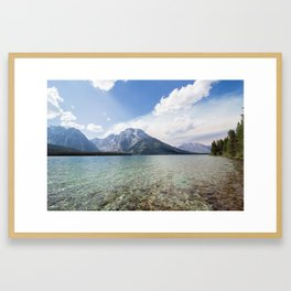 LEIGH LAKE Framed Art Print