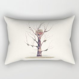 The Swamp Witch's Treehouse Rectangular Pillow