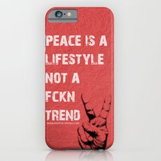 Peace Out!  Slim Case iPhone 6s