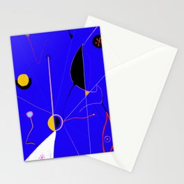 A JOAN MIRO YOU CAN ACTUALLY AFFORD (The Wound) Stationery Cards