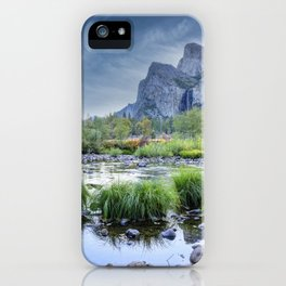 Valley View 6668 Pano - Yosemite National Park, CA iPhone Case