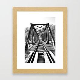 Bridge 4 Framed Art Print