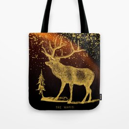 The Wapiti Tote Bag