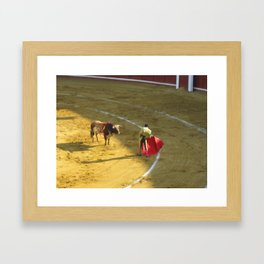 El Machismo Framed Art Print