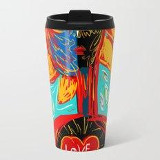 Love Rules Street Art Graffiti Pop Travel Mug