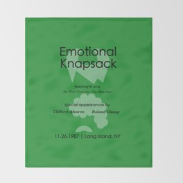 Emotional Knapsack - Friends Throw Blanket